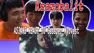 ASIANS REACT TO Cassper Nyovest - Ksazobalit (Official Music Video) width=