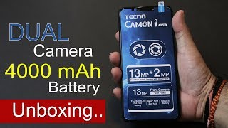 Tecno Camon i Twin Unboxing, First Impression, Specs, Price in India Rs. 11,499 width=