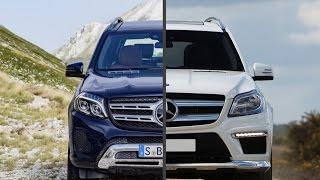 getlinkyoutube.com-2017 Mercedes-Benz GLS 350d vs. Mercedes-Benz GL350 BlueTEC