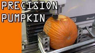 getlinkyoutube.com-Precision Machining a Pumpkin  WW117
