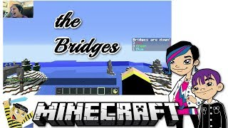 getlinkyoutube.com-Minecraft - Mineplex Server Game Play with Gamer Chad / Chad Alan - Bridges