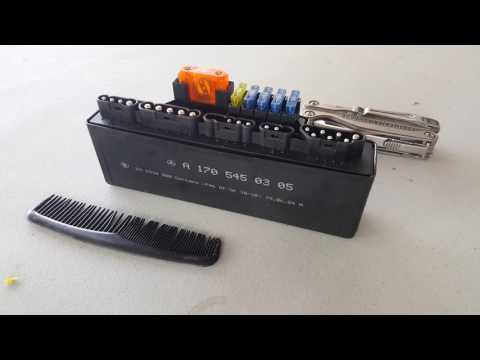 How to open RCM relay control module Crossfire