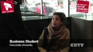 Vox Pop If Jean Charest doesn't listen what do you expect from Student leaders to do next EV Bui