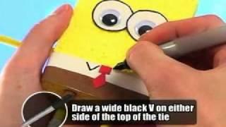 getlinkyoutube.com-How to make Spongebob Squarepants