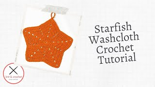 getlinkyoutube.com-Starfish Washcloth Free Pattern Workshop