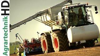 XXL Potato Planting | CLAAS XERION 5000 | Fendt Traktoren im Einsatz | Tractors | AgrartechnikHD
