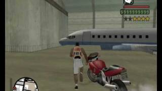 getlinkyoutube.com-GTA San Andreas - Access Las Venturas Airport without a Pilots Lisence