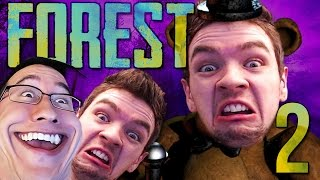 getlinkyoutube.com-JACK IS FREDDY?! | The Forest COOP w/ JackSepticEye - Part 2