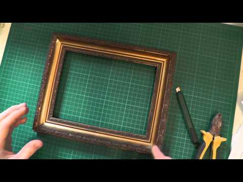 How to Restore and Reuse Old Picture Frames