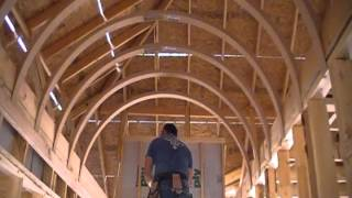 getlinkyoutube.com-How to Build A Barrel Vault Ceiling Efficiently, Affordably and Perfectly