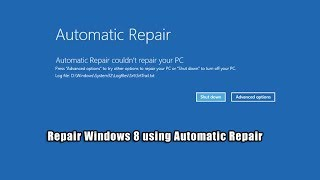 getlinkyoutube.com-Repair Windows 8 using Automatic Repair