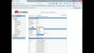 getlinkyoutube.com-Configuracion Basica de red WiFi en Modem Huawei HG530