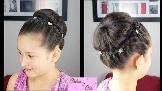 getlinkyoutube.com-Recogido con Corona Trenzada - Braided Crown Updo | Peinados para Fiesta | Peinados Elegantes