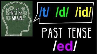 getlinkyoutube.com-Past Tense (ed) Pronunciation: My English Brain