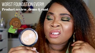 Worst Foundation Ever!| ELF Mattifying Cream HD Foundation Review and Demo