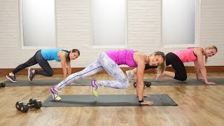 getlinkyoutube.com-Burn 300 Calories in 30 Minutes With This Workout | Class FitSugar