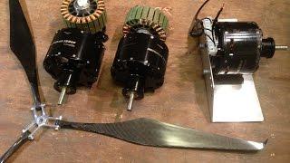 getlinkyoutube.com-Rewinding the Turnigy Rotomax 150cc BLDC to lower kV