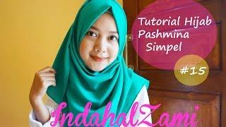 getlinkyoutube.com-Tutorial Hijab Pashmina Simple (Pashmina Diamond Italiano #15 - indahalzami