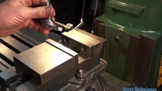 getlinkyoutube.com-Use of the Fly Cutter on the Milling Machine