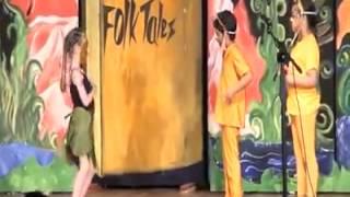 getlinkyoutube.com-Anoushka Ajith's Cute Performance at her School Function