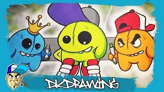 getlinkyoutube.com-How to draw my new graffiti characters Part 13