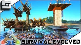 ARK: Survival Evolved - BUILDABLE PLESIO SADDLE! ELEVATOR! BALLISTA!  S2E18 ( Gameplay )