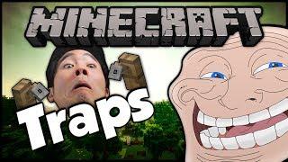 getlinkyoutube.com-Minecraft: Trolling Little Kids | #27 (Tripwire Hook Traps)