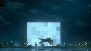 getlinkyoutube.com-Minecraft Dreamscene desktop - Wolf run