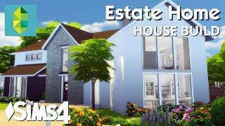 getlinkyoutube.com-The Sims 4 House Building - Estate Home