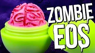 getlinkyoutube.com-DIY Zombie Brain EOS ♥ Halloween Lip Balm!