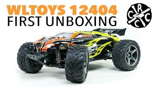 getlinkyoutube.com-WLTOYS 12404 1/12th Scale RC Truggy Monster Truck - FIRST UNBOXING