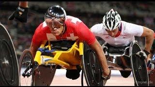 getlinkyoutube.com-Athletics - Men's 5000m - T54 Final - London 2012 Paralympic Games