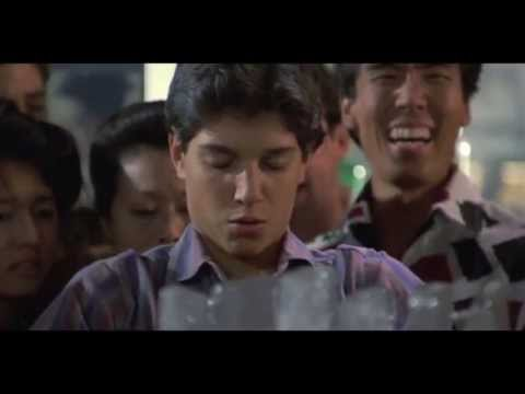 Karate Kid Summons Conan the Barbarian