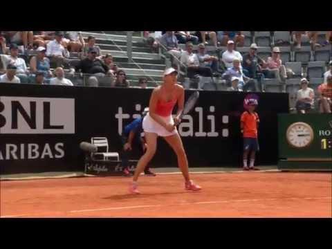 Maria Sharapova`s Best Shots of 2015
