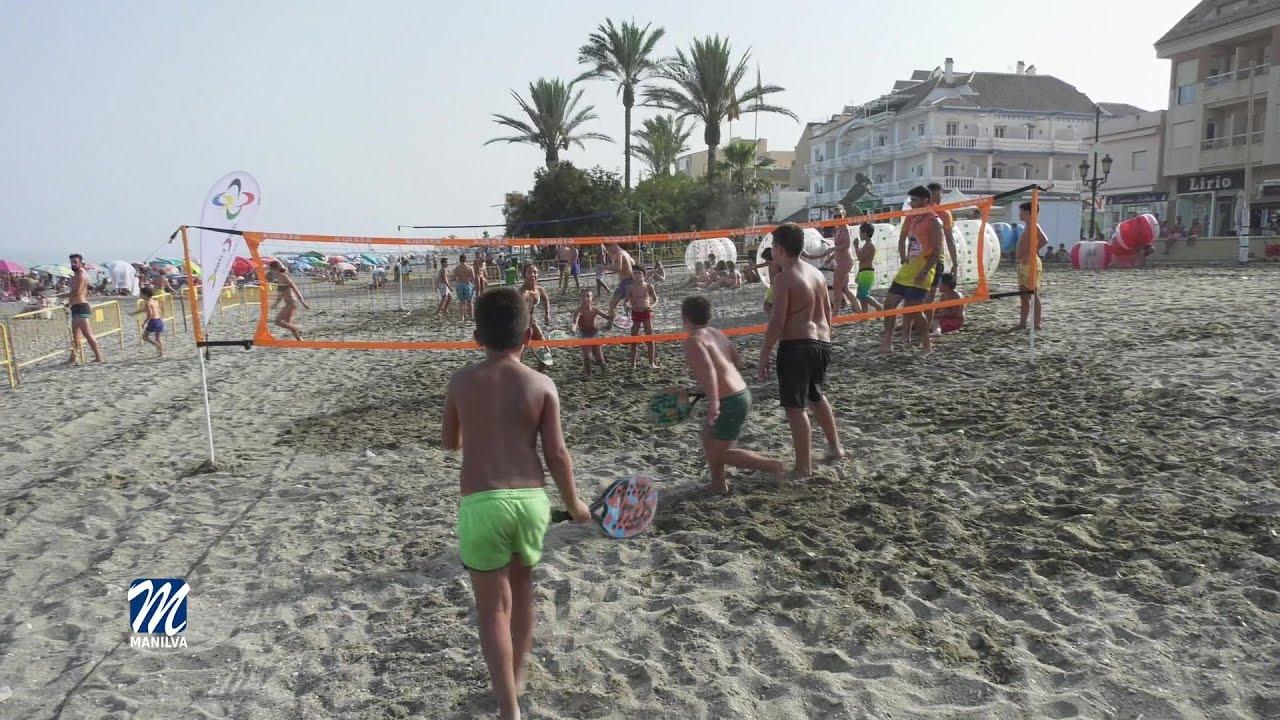 Continúan las actividades deportivas en nuestras playas