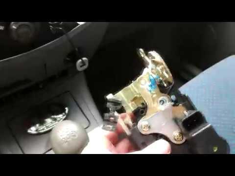 Замена замка водительской двери Chery Tiggo
