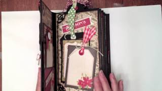 getlinkyoutube.com-Vertical Paper Bag Mini Album Tutorial