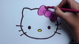 getlinkyoutube.com-Dibujo de hello kitty - Hello kitty drawing