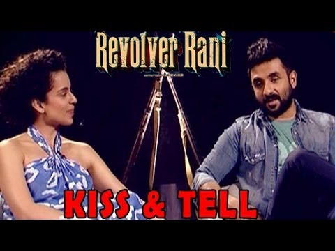 Kangna & Vir Das talk about their bloody kiss!