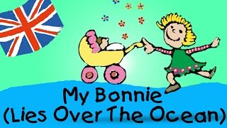 getlinkyoutube.com-My Bonnie (Lies Over The Ocean) - englische Kindergarten Lieder || Kinderlieder