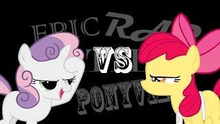 getlinkyoutube.com-Epic Rap Battles of Ponyville: Apple Bloom VS Sweetie Belle