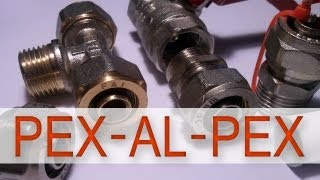 getlinkyoutube.com-Pex-Al-Pex - PEX - Jak wykonać złącze? Jak wygląda rozkręcona złączka?