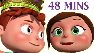 getlinkyoutube.com-Jack and Jill And Many More | 3D Rhymes | Nursery Rhymes Collection For Babies