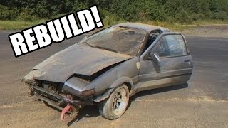 getlinkyoutube.com-Eric's AE86 Rebuild Episode 1: Damage Report