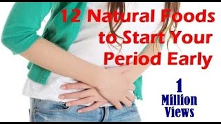 getlinkyoutube.com-The best way to start your period early – 12 natural foods to Prepone your periods by few days