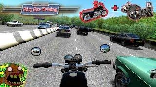 getlinkyoutube.com-City Car Driving - Moto no corredor + Volante G27! HU3 BR