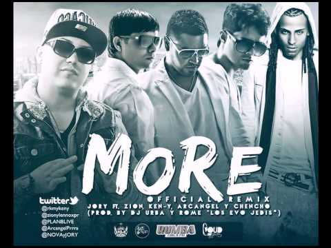 More (Official Remix) - Jory Ft Zion, Ken-Y, Arcangel y Chen
