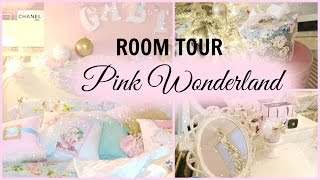 getlinkyoutube.com-MY 2015 HOLIDAY ROOM TOUR | PINK WONDERLAND