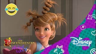 getlinkyoutube.com-Disney Channel España | Los Descendientes: Wicked World - ¿Nuevo peinado de Audrey?