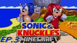 getlinkyoutube.com-Sonic Craft 4 (Sonic & Knuckles) Part 3 w/ KKcomics and Gizzy Gazza!